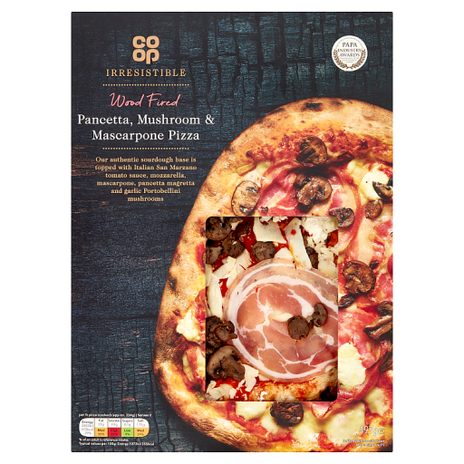 Co Op Limited Edition Irresistible Wood Fired Truffle Salsiccia